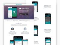 Draft Mockup Webpage Quranesia