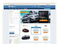 Tiket.com Rentcar Page