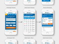 Draft Tiket.com Mobile Design
