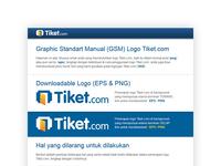 Graphic Standart Manual Logo Tiket.com