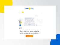 New tiket.com 404 page