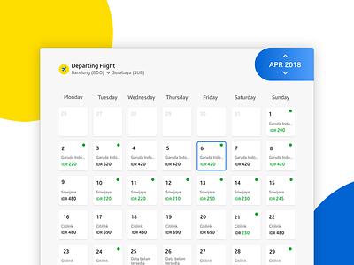 Departing Flight Date schedule departing month day flight date javascript apps web