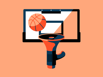 Sports and Social Justice editorial illustration athlete orange blm social justice athletics nba basketball sports vector design editorial conceptual illustration conceptual art vectorart illustration digital digital illustration