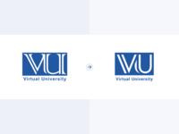 Virtual University Logo Redesign