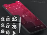 Movie Booking App Calendar Control: Assembly Process