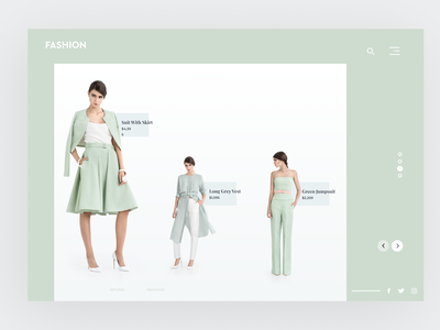 Fashion Landing Page 3fashionwebdesign 3fashionwebdesign web graphic design website branding ui illustration ux minimal typography design