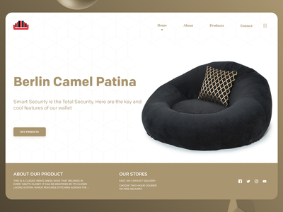 Online Furniture website new designs branding minimal web ux ui design