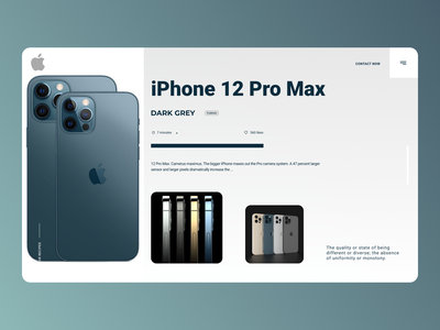 iPhone Selling Web Design typography minimal website new designs branding design web ux ui
