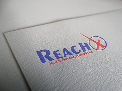 ReachX Logo Design illustraion branding graphic design logo