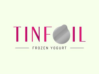 TINFOIL - LOGO famous typeface logo design illustrator photoshop minimal designer design art color logo design
