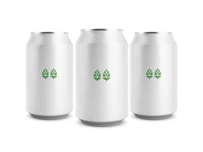 Double IPA minimalist ipa dipa beer brewery craft beer craft brewery ontario canada can mockup