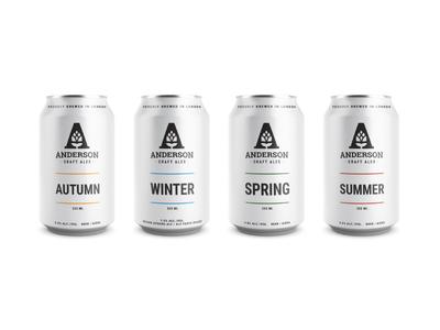 Anderson Craft Ales Lineup