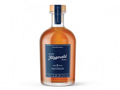 Fitzgerald Whiskey Bottle
