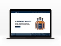 Fitzgerald Whiskey Landing Page