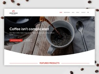 Slow Wave Coffee Website