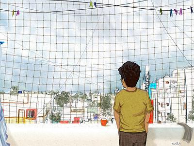 Digital painting | Happy place design illustration digital painting digital artist digital art