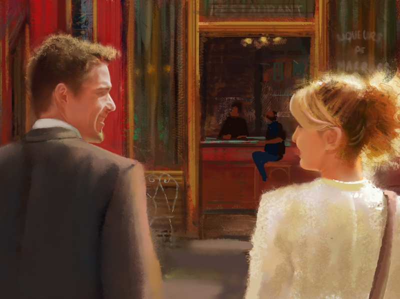 Digital painting | before sunset fanart digital painting digital art digital artist illustration
