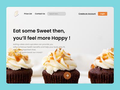 Landing Page art website typography ux ui minimal web design