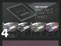 Ipadair2 free mockup preview