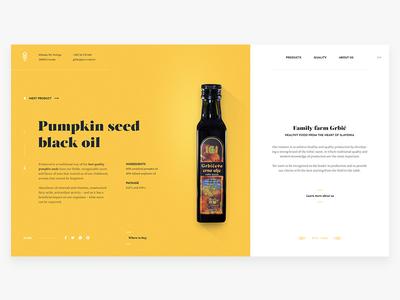 Grbic website webpage webdesign web ui landing