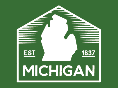 Michigan Badge badge michigan