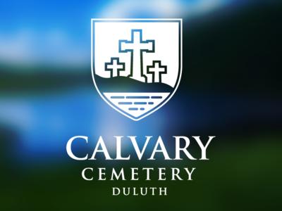 Calvary Cemetery Logo