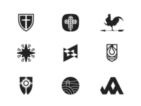 Logofolio B/W