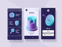 3D ICONS freebie pack figma web design icon animation illustration gif design ui icons set icon set icons 3d website web application app