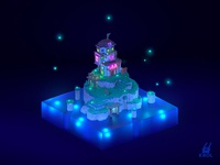 Voxel House