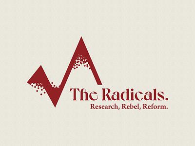 The Radicals logo logo mark symbol logo mark graphic design design branding design branding concept branding and identity branding brand identity brand designer brand design brand