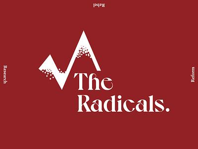 The Radicals logomark logo design graphic design branding design branding concept branding and identity branding brand identity brand designer brand design brand