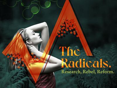 The Radicals graphic design design branding design branding concept branding and identity branding brand identity brand designer brand design brand