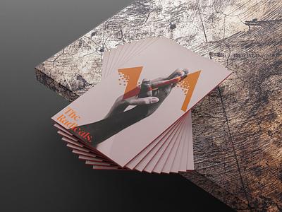The Radicals business card mockup business cards business card design business card businesscard design graphic design branding design branding concept branding brand identity brand designer brand design brand