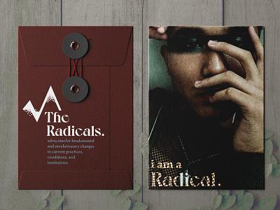 The Radicals envelope mockup envelope design envelope graphic design branding design branding brand identity brand designer brand design brand