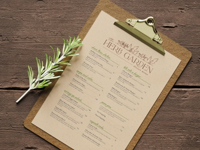 Vegan Menu Design sustainable recycled recycled paper print design print menu design menu veganism vegan design graphic design branding brand designer brand