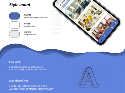 Style board for Exclious app design branding ecommerce app appdesign uiux uidesign ui design casestudy app ecommerce