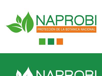 LOGO NAPROBI publicidad logo design branding
