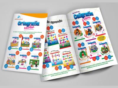 ACTUALIDAD catalogo icon redes sociales illustration typography design logo publicidad branding