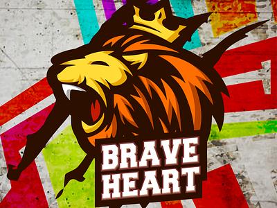 LOGO BRAVE HEART