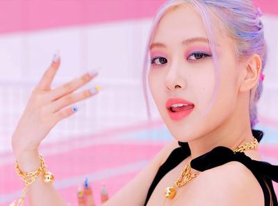 blackpink ice cream rose idol kpop