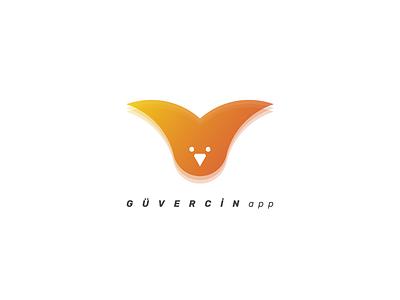 GÜVERCİNapp Logo Design icon design logo designer logo design concept logo design visual identity design logo identity graphic design design branding