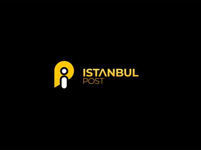 Istanbul Post Identity Design icon design logo designer logo design concept logo design visual identity design logo identity graphic design design branding