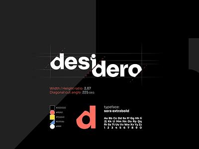 Desidero - Identity Redesign icon design rebranding logo designer logo design concept logo design visual identity design logo identity graphic design design branding