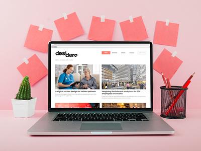Desidero - Identity Redesign logo design concept logo designer rebranding logo design visual identity design logo identity graphic design design branding