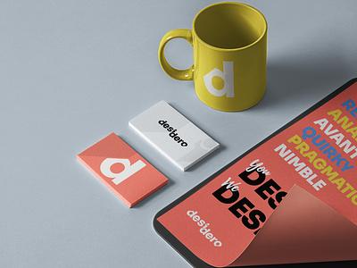 Desidero - Identity Redesign rebranding logo designer logo design concept logo design visual identity design logo identity graphic design design branding