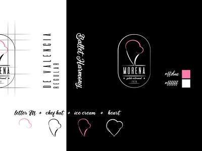 Morena Gelato Artesanal - Identity Design