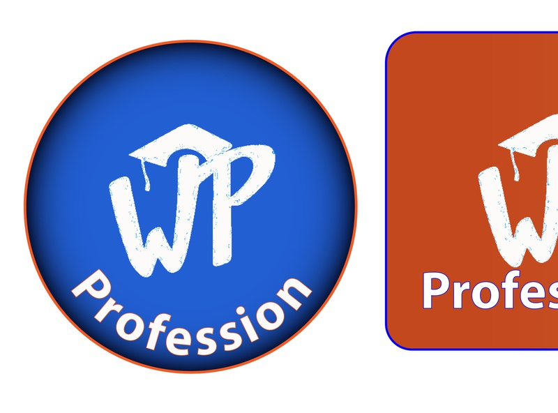 Wp Profession Logo Design logo designer advance logo design advance logo high regulation logo animated logo creative logo logo
