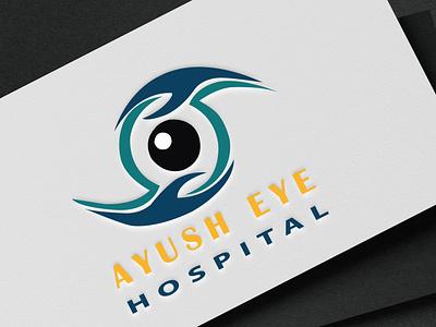Eye Clinic Logo Mockup logo designer advance logo design advance logo high regulation logo animated logo creative logo logo