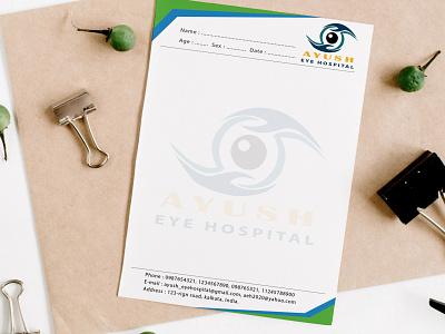 Eye Clinic  prescription design banner design