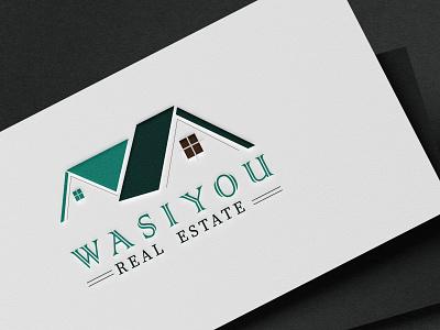 WASIYOU Realestate logo logo designer advance logo design advance logo high regulation logo animated logo creative logo logo